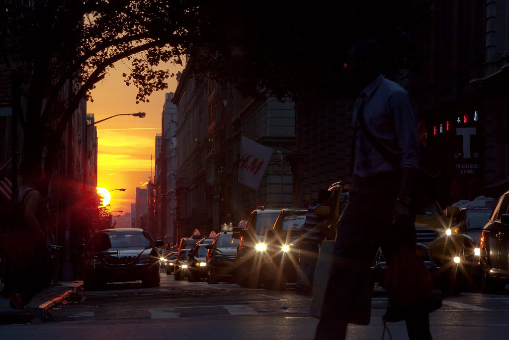 (not) Manhattanhenge