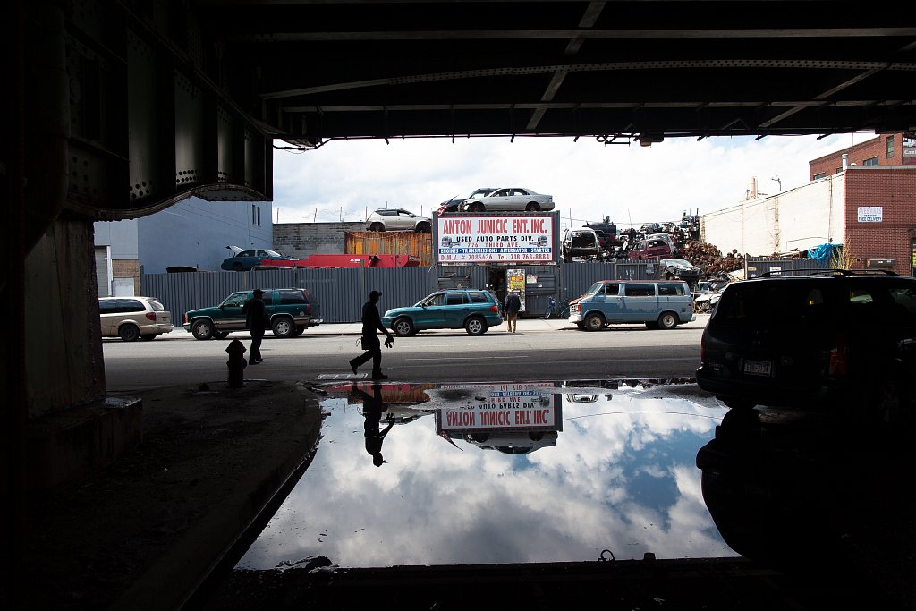 A Walk Below the BQE