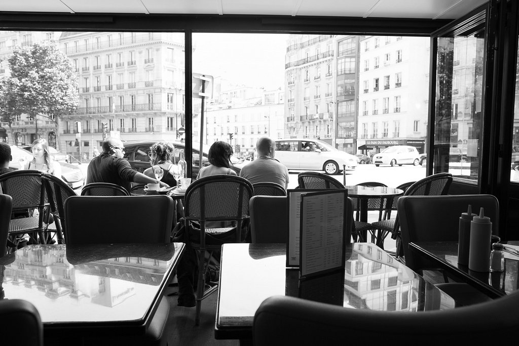 A moment in the 8th Arrondissement