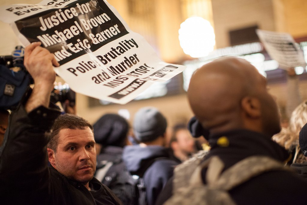 Grand Central Protest