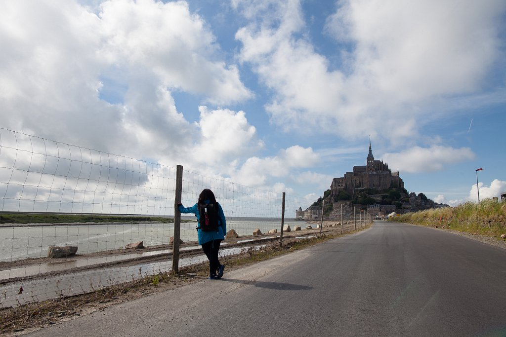 The Walk to Saint Michel